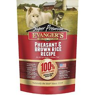 Evanger's Super Premium Pheasant & Brown Rice Formula Dry Dog Food, 16.5-lb bag