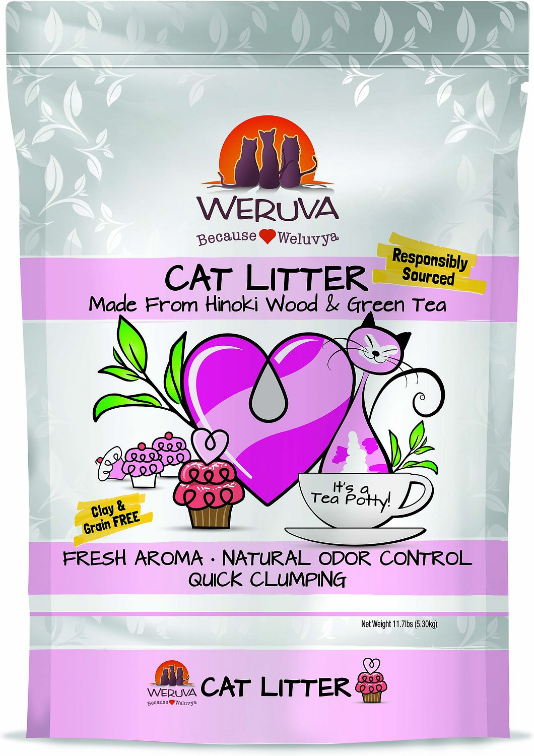 Weruva Natural Quick Clumping Cat Litter