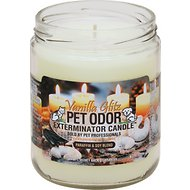Pet Odor Exterminator Vanilla Glitz Deodorizing Candle, 13-oz jar
