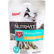 Nutri-Vet Flossing Dental Chews for Medium & Large Dogs