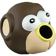 Starmark Forest Friends Treat Dispensing Dog Toy, Monkey
