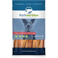 Barkworthies Small Odor-Free Assorted Bully Sticks Dog Treats, 1-lb bag