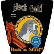 Black Gold Bacon & Cheese Flavor Jerky Dog Treats, 25-oz bag