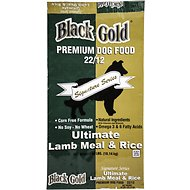 Black Gold Ultimate 22/12 Lamb Meal & Rice Dry Dog Food, 40-lb bag