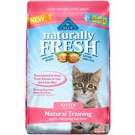 Blue Buffalo Naturally Fresh Walnut-Based Kitten Training Quick-Clumping Cat Litter, 14-lb bag