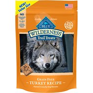 Blue Buffalo Wilderness Trail Treats Turkey Biscuits Grain-Free Dog Treats, 24-oz bag