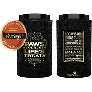 Etta Says! Beef Liver Yumms Freeze-Dried Dog Treats in Decorative Tin