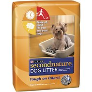 Secondnature Dog Litter, 25-lb bag