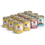 Weruva Holy Chicken Mackerel Variety Pack Grain-Free Canned Cat Food, 10-oz, case of 12
