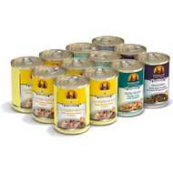 Weruva No Ruff Days Variety Pack Grain-Free Canned Dog Food, 14-oz, case of 12