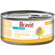 Bravo! Feline Cafe Chicken Fricassee Grain-Free Canned Cat Food, 5.5-oz, case of 24