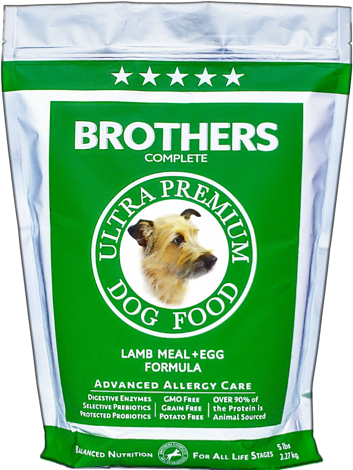 Brothers Complete Allergy Dog Food