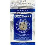Brothers Complete Turkey Meal & Egg Formula Advanced Allergy Care Grain-Free Dry Dog Food, 5-lb bag