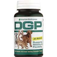 American BioSciences DGP All Natural Support Mobility & Flexibility Supplement for Dogs & Cats, 60-count