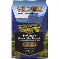 Victor Select Beef Meal & Brown Rice Dry Dog Food, 40-lb bag