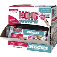 KONG Stuff'N Ziggies Puppy Cube Dog Treats, Large, 40 count