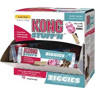 KONG Stuff'N Ziggies Puppy Cube Dog Treats, Small, 75 count