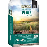 CANIDAE Grain-Free PURE Resolve Weight Management with Chicken Dry Cat Food, 8-lb bag
