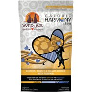 Weruva Caloric Harmony Chicken, Turkey & Salmon Dinner with Pumpkin Grain-Free Dry Dog Food, 24-lb bag