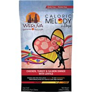 Weruva Caloric Melody Chicken, Turkey & Salmon Dinner with Lentils Grain-Free Dry Dog Food, 24-lb bag