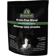 Holistic Blend Grain-Free Marine 5 Fish All Life Stages Dry Cat Food, 2-lb bag