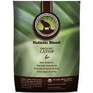 Holistic Blend Organic Catnip for Cats, 1.23-oz bag