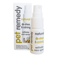 Pet Remedy Natural De-Stress and Calming Refillable Mini Spray for Pets, 15-ml bottle