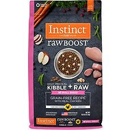 Nature's Variety Instinct Raw Boost Grain-Free Chicken Meal Formula Small Breed Dry Dog Food, 10-lb bag