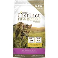 Nature's Variety Instinct Raw Boost Grain-Free Chicken Meal Formula Indoor Dry Cat Food, 5.1-lb bag
