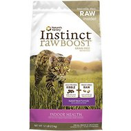 Nature's Variety Instinct Raw Boost Grain-Free Rabbit Meal Formula Indoor Dry Cat Food, 5.1-lb bag