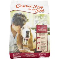 Chicken Soup for the Soul Beef & Legumes Grain-Free Dry Dog Food, 25-lb bag