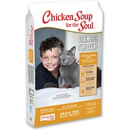 Chicken Soup for the Soul Chicken & Legumes Grain-Free Dry Cat Food, 12-lb bag