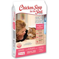 Chicken Soup for the Soul Limited Ingredient Diet Salmon & Legumes Grain-Free Dry Cat Food, 12-lb bag