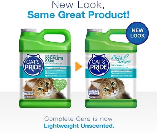 Cat S Pride Fresh Amp Light Ultimate Care Premium Unscented Hypoallergenic Multi Cat