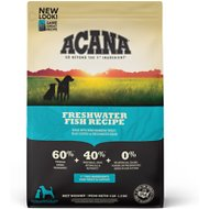 ACANA Heritage Freshwater Fish Formula Grain-Free Dry Dog Food, 4.5-lb bag