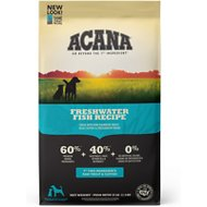 ACANA Heritage Freshwater Fish Formula Grain-Free Dry Dog Food, 25-lb bag