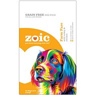 Zoic Farm Fare with Chicken & Turkey Grain-Free Dry Dog Food, 4.5-lb bag