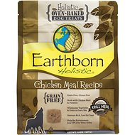 Earthborn Holistic Grain-Free Chicken Meal Recipe Dog Treats, 14-oz bag
