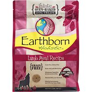 Earthborn Holistic Grain-Free Lamb Meal Recipe Dog Treats, 2-lb bag