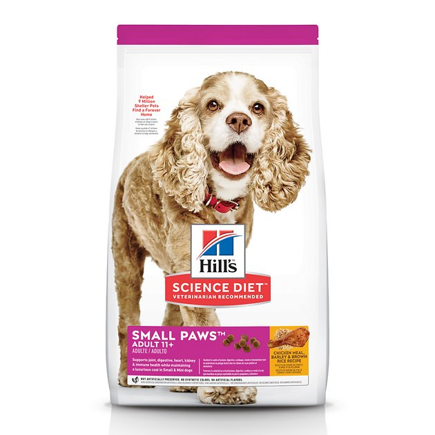 Science Diet Small And Toy Breed Senior Dog Food