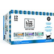 I and Love and You Variety Pack Grain-Free Canned Cat Food, 3-oz, case of 12