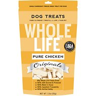 Whole Life Pure Chicken Freeze-Dried Dog Treats, 3.3-oz bag