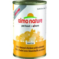 Almo Nature Legend 100% Natural Chicken with Whitebait Grain-Free Canned Cat Food, 4.94-oz, case of 24