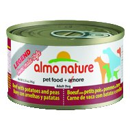 Almo Nature Legend Homemade Style Beef with Potatoes and Peas Adult Grain-Free Canned Dog Food, 3.35-oz, case of 24