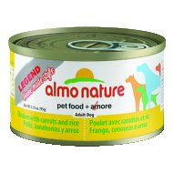 Almo Nature Legend Homemade Style Chicken with Carrots Adult Grain-Free Canned Dog Food, 3.35-oz, case of 24