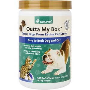 NaturVet Outta My Box Soft Chews for Dogs & Cats, 500 count