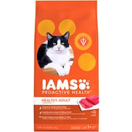 Iams ProActive Health Healthy Adult Original with Tuna Dry Cat Food, 7-lb bag