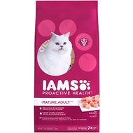 Iams ProActive Health Mature Adult Dry Cat Food, 7-lb bag