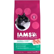 Iams ProActive Health Mature Adult Hairball Care Dry Cat Food, 7-lb bag
