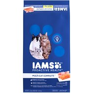 Iams ProActive Health Multi-Cat with Chicken & Salmon Dry Cat Food, 22-lb bag
